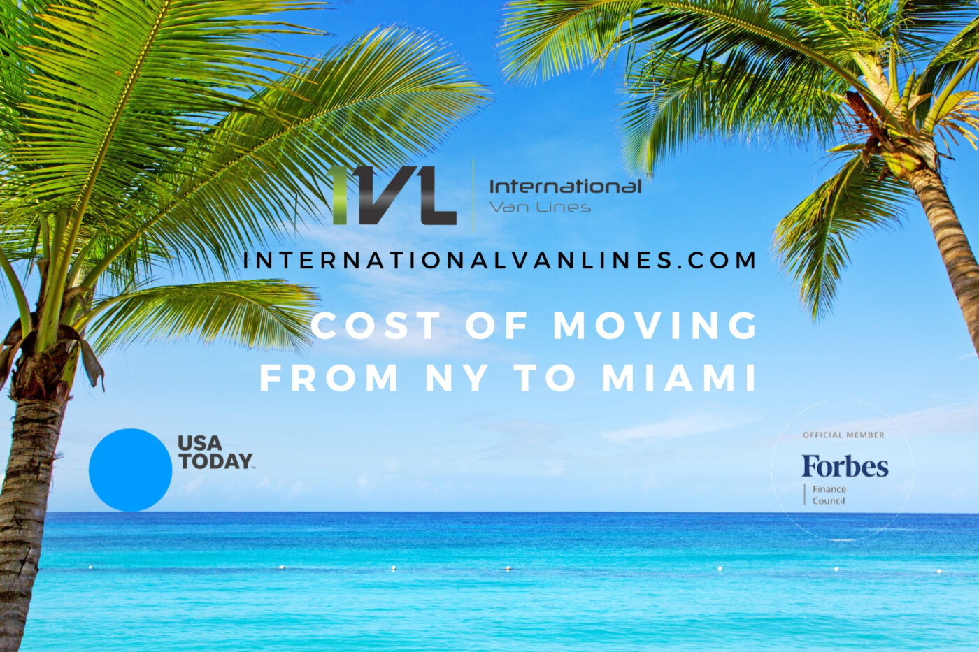 The cost of moving can vary. Florida is a beautiful place to live, especially Miami