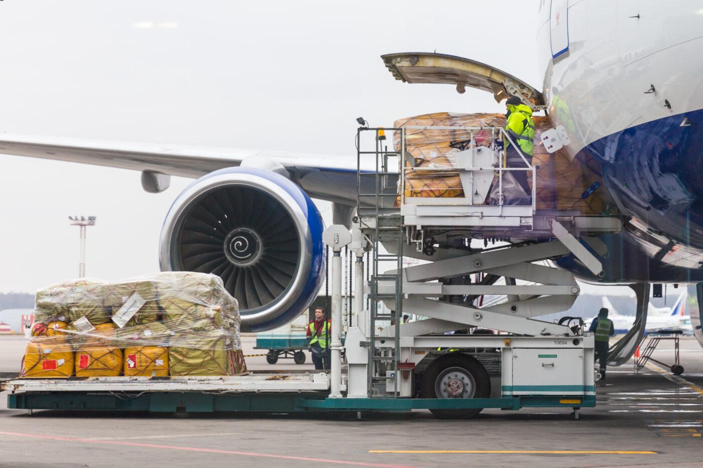 Air freight to Dublin, Ireland