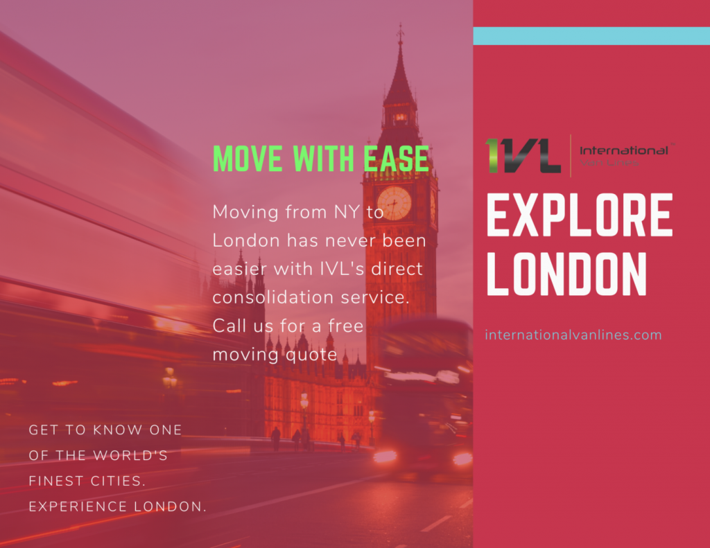 Tips on moving from New York to London