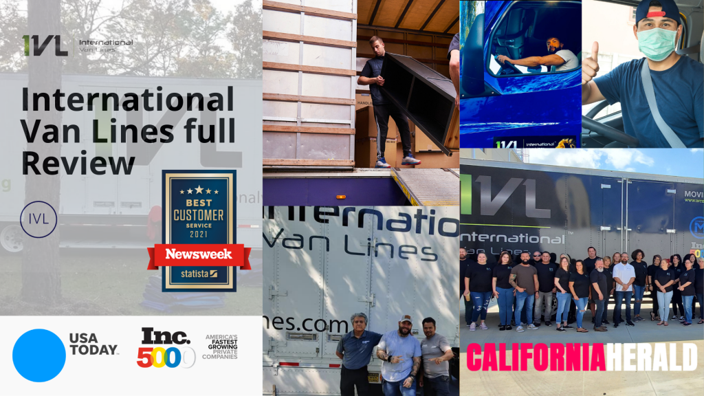 International Van Lines Employees, awards and reviews