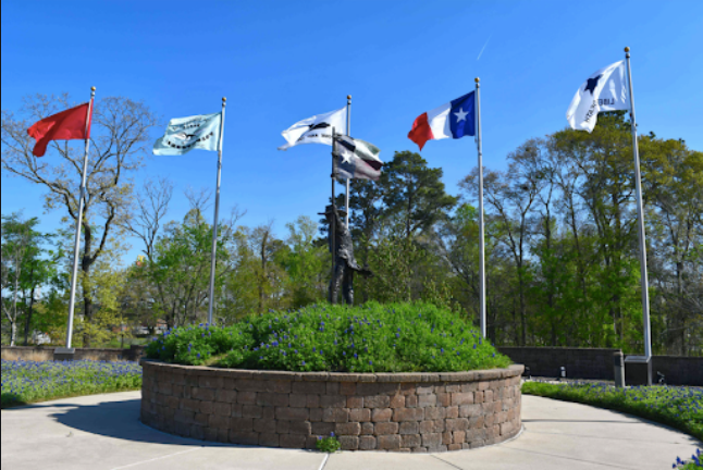 Historical Flag Park And The Lone Star Monument